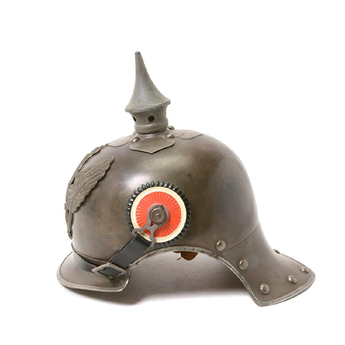 Bavarian Officer's Pickelhaube with Prussian Artillery - 8