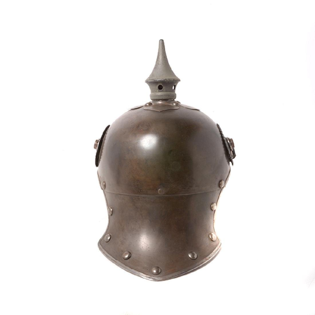 Bavarian Officer's Pickelhaube with Prussian Artillery - 9