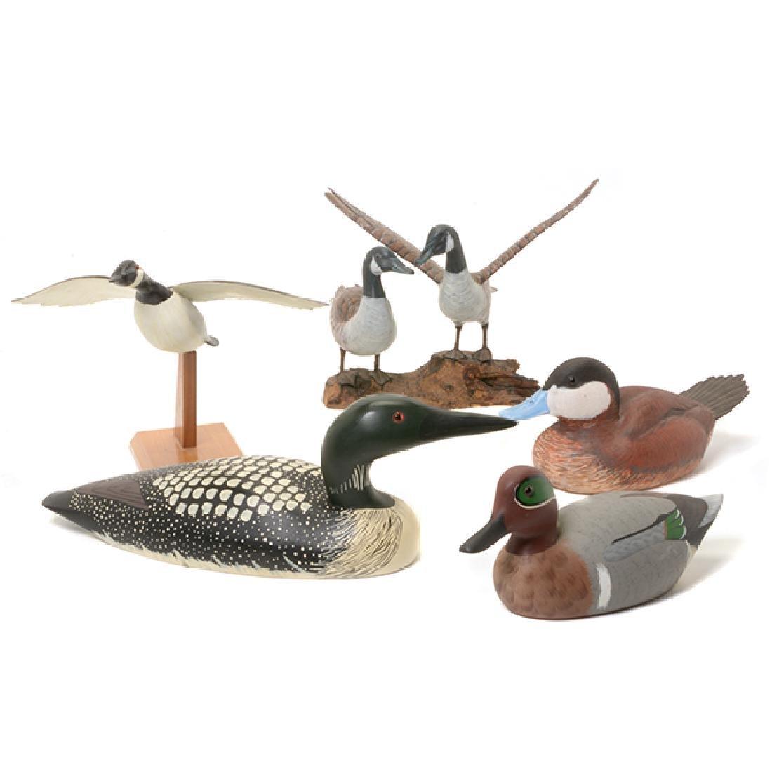 Five Duck Decoys
