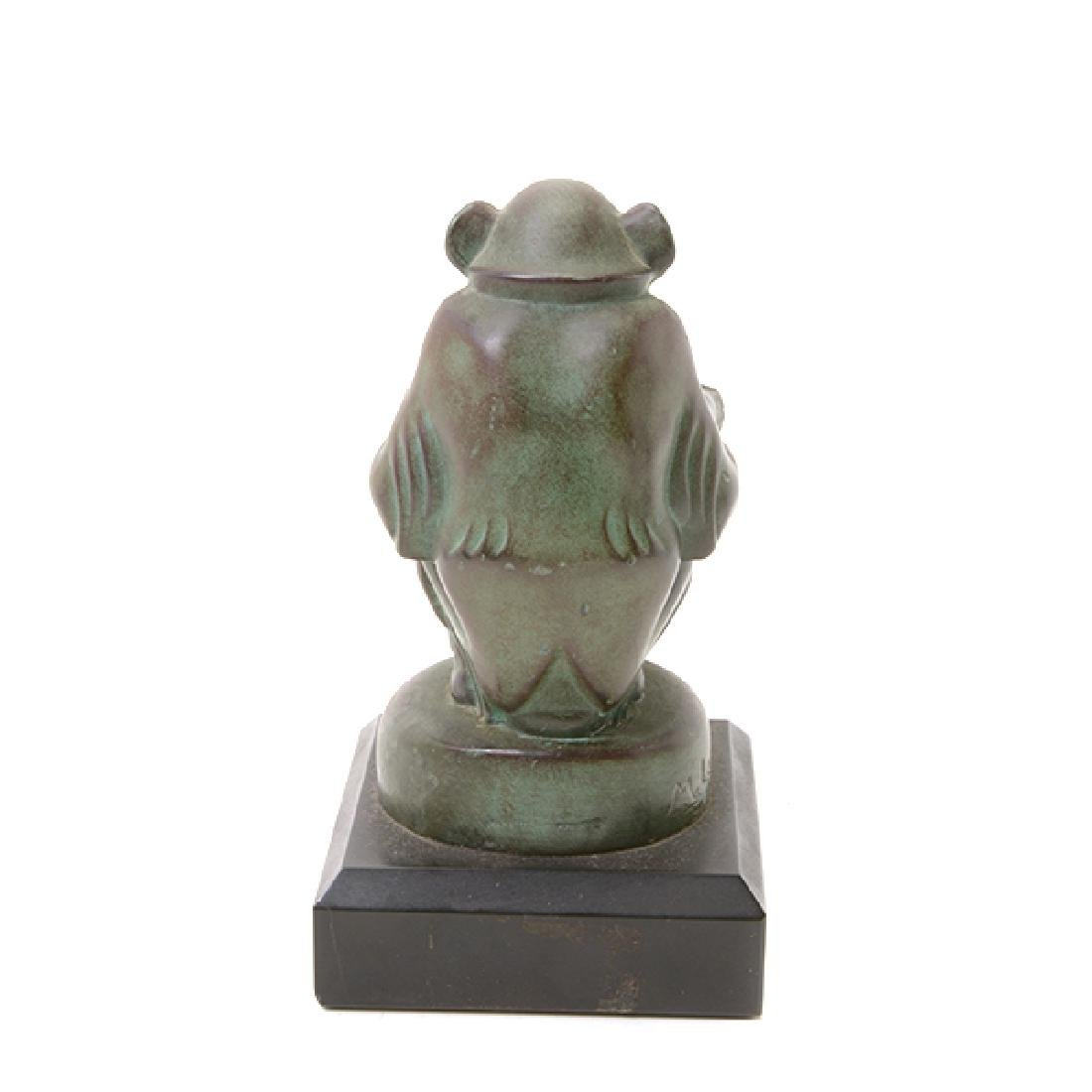 Pair of Bronze Monkey Figures, After M. LeVerrier - 4