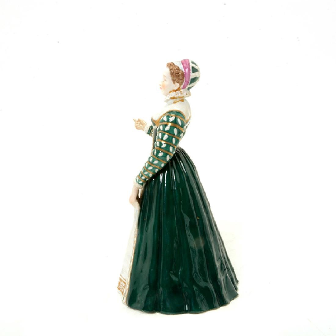 Collection of Three French Porcelain Court Lady Figures - 3