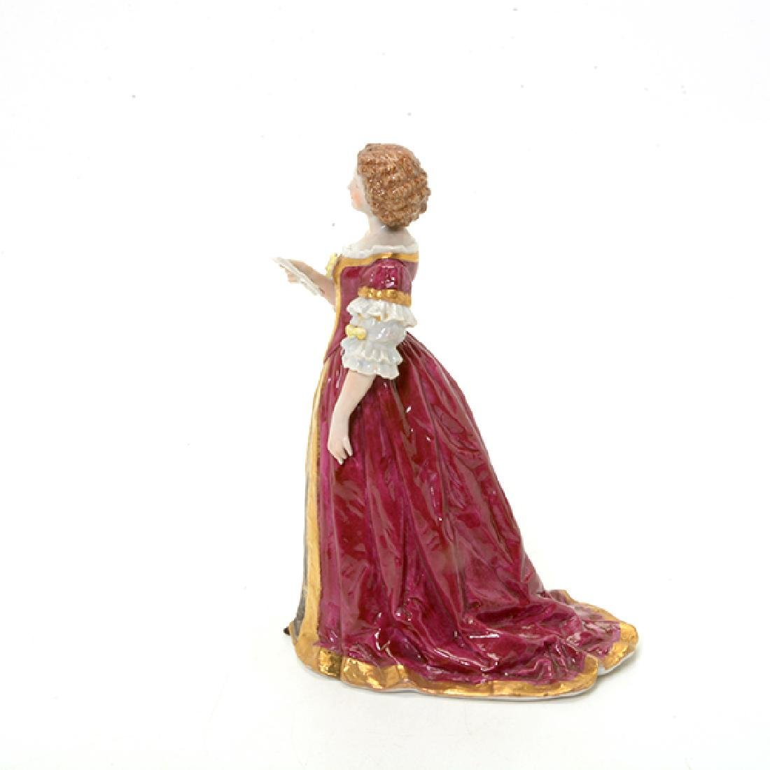 Collection of Three French Porcelain Court Lady Figures - 7