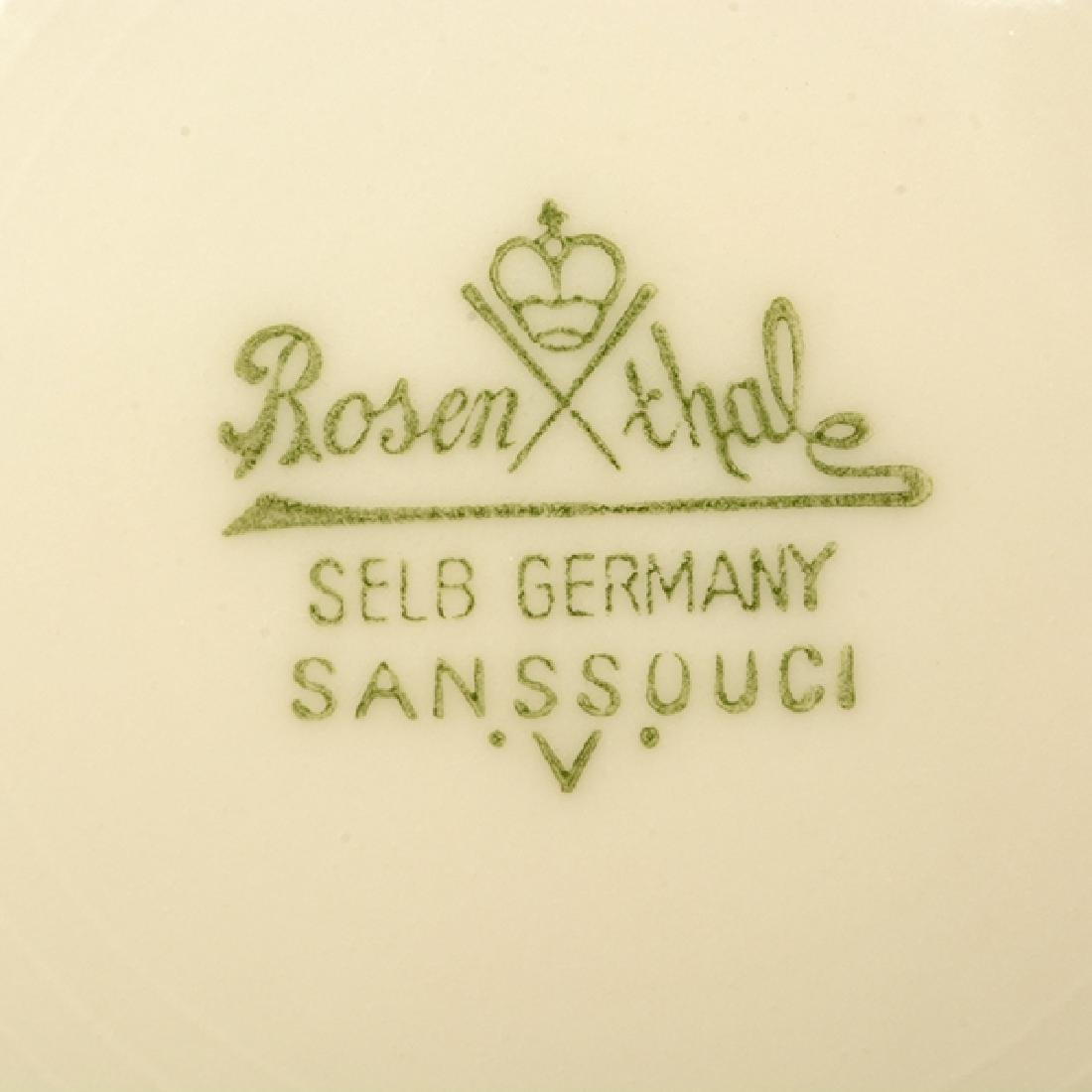 Rosenthal Sans Souci Porcelain Dinner Service - 5