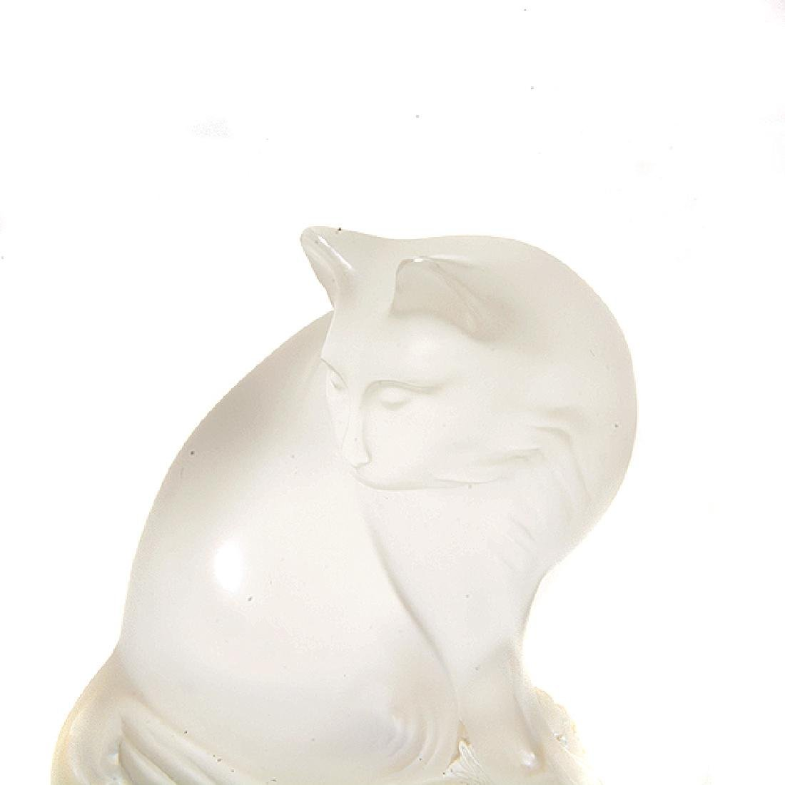 Five Lalique Crystal Animal Figurines with One Baccarat - 9