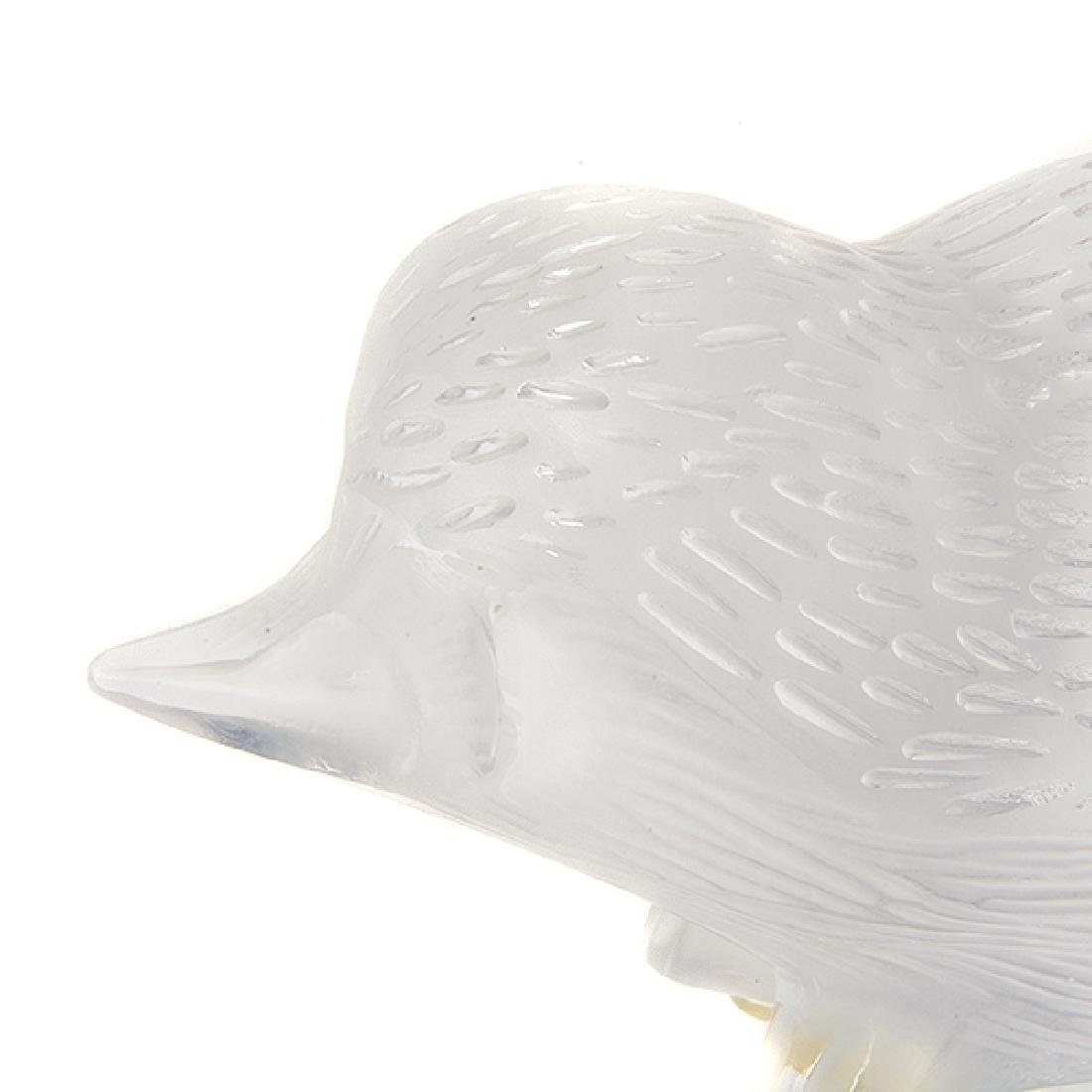 Five Lalique Crystal Animal Figurines with One Baccarat - 7