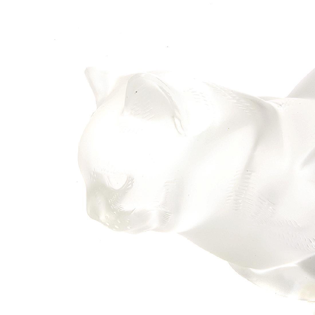 Four Lalique France Animal Figures - 3