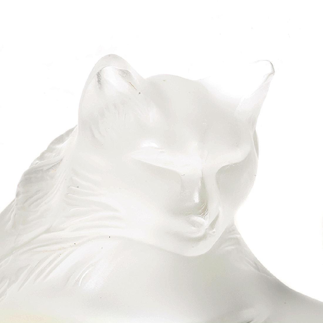 Four Lalique France Animal Figures - 8