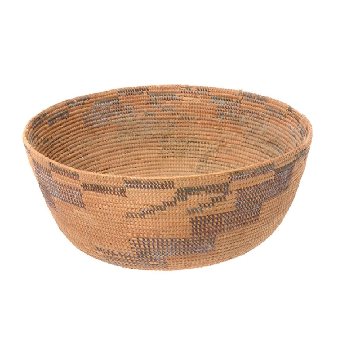 Three Native American Hand Woven Baskets - 2