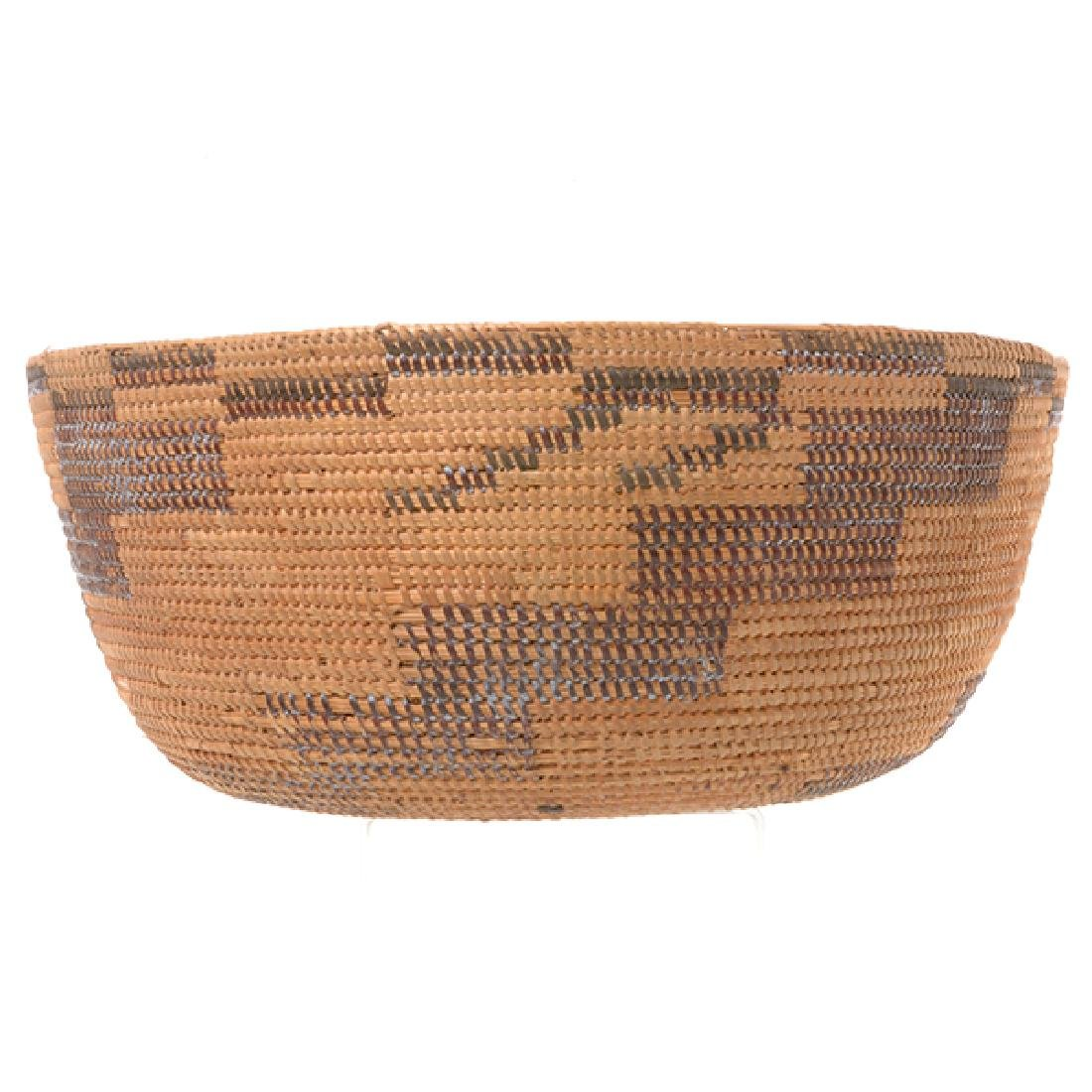 Three Native American Hand Woven Baskets - 3