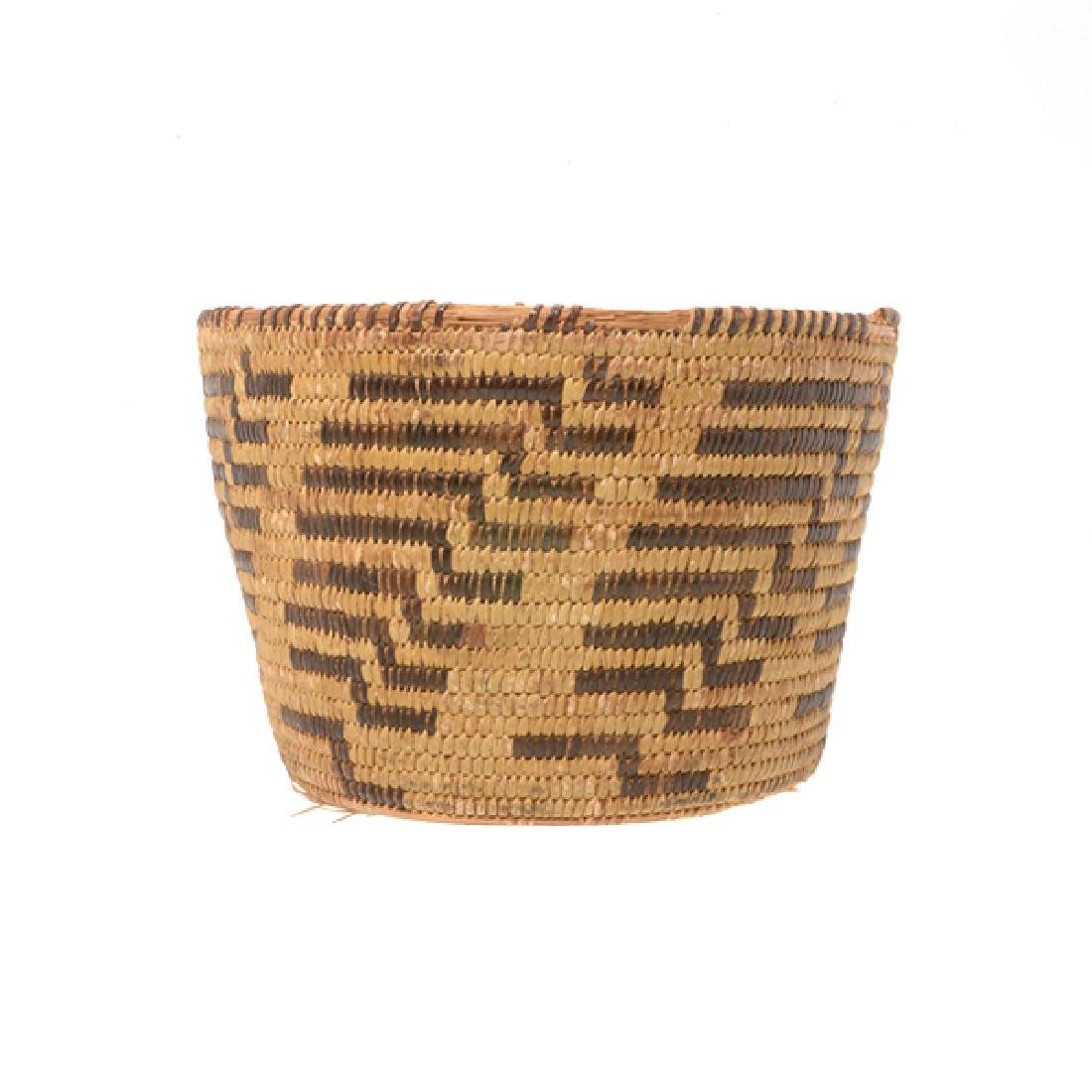 Three Native American Hand Woven Baskets - 4