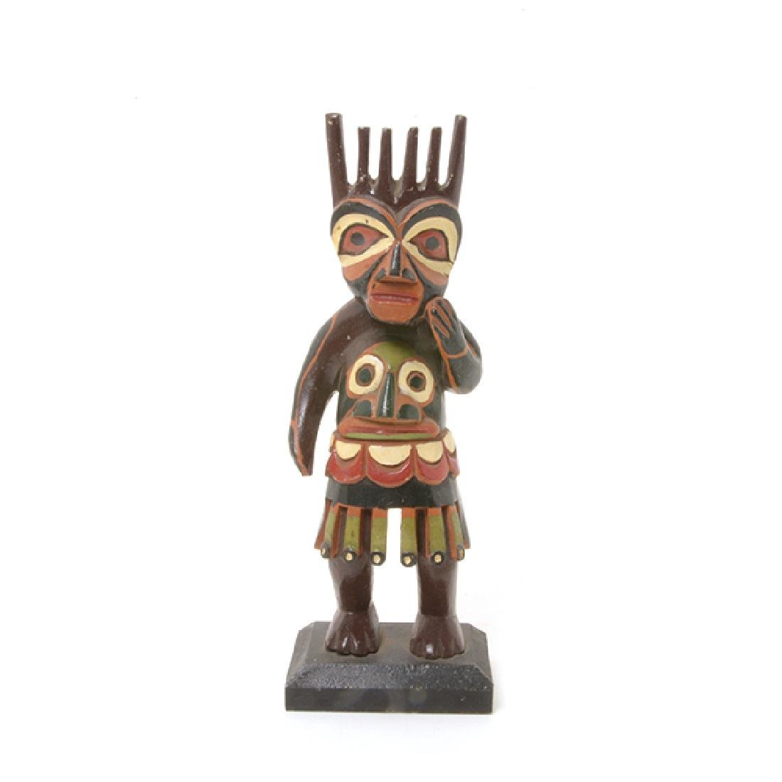 Collection of Eskimo Articles and Totem Poles - 4