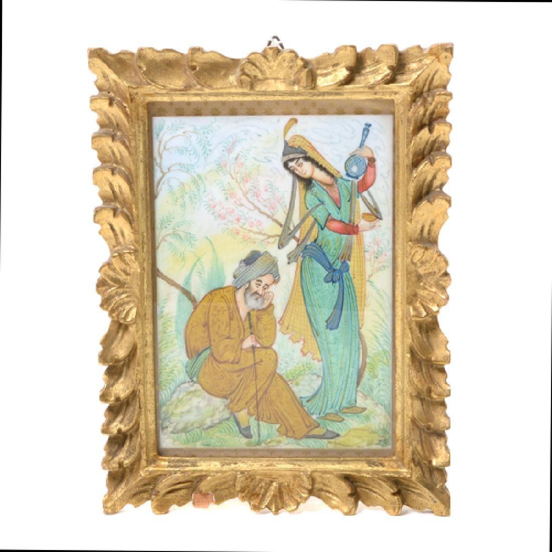 Three Persian Miniature Paintings - 6