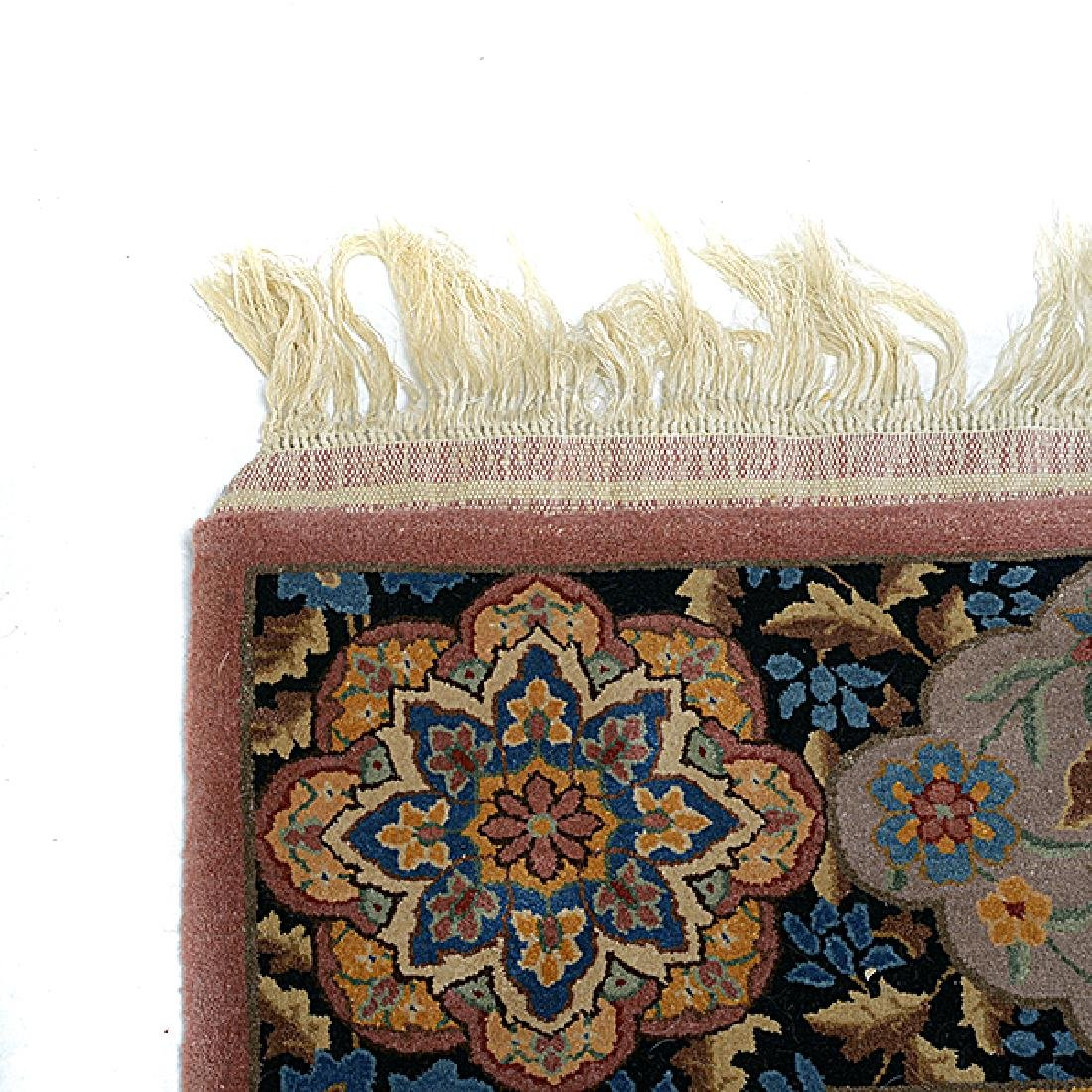 Islamic Figural Carpet Tapestry with Calligraphy: 5 - 6