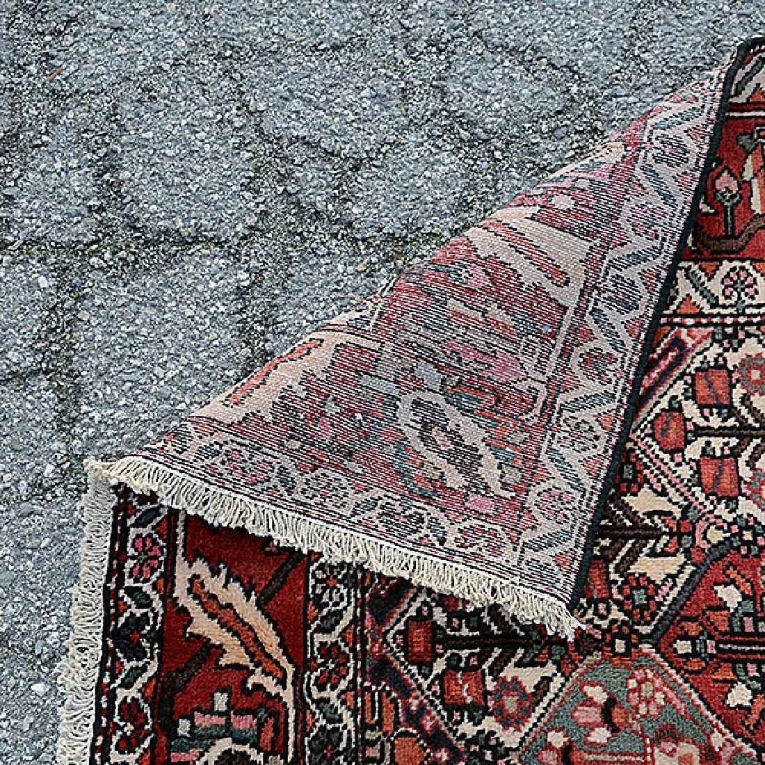 Bakhtiari Carpet: 6 feet 10 inches x 10 feet - 3