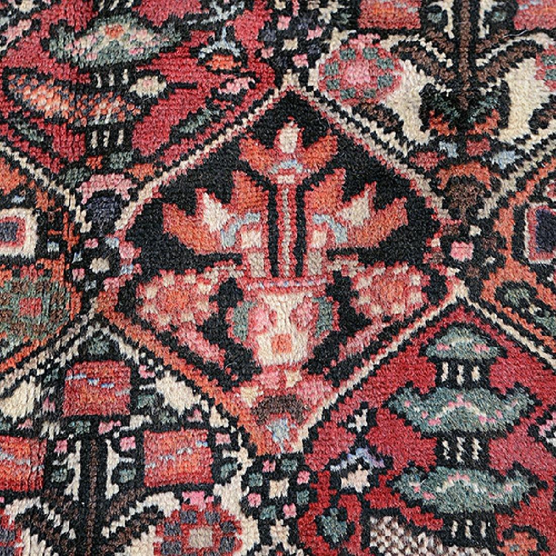 Bakhtiari Carpet: 6 feet 10 inches x 10 feet - 4