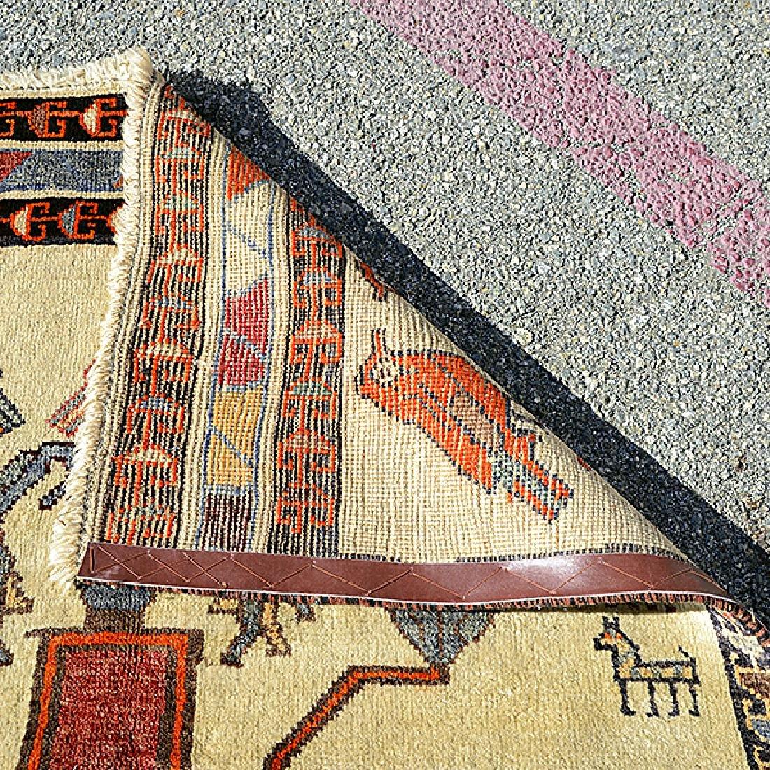 Qashaqai Rug: 3 feet 8 inches x 8 feet 4 inches - 3