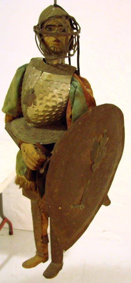 20: Rare  Folk Art Antique Marionette Puppet