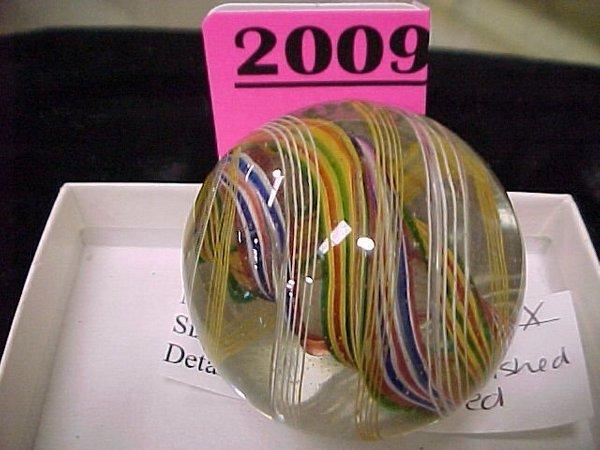 "2009: 1 ¾"" Handmade Open Core Marble"