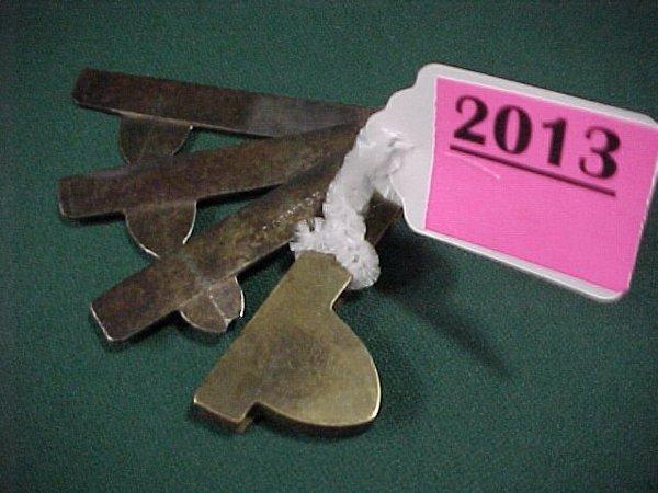 2013: Borwick 3 Blade Flem Tool