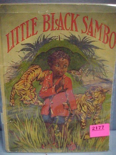 "2177: 1928 ""Little Black Sambo"" Book"
