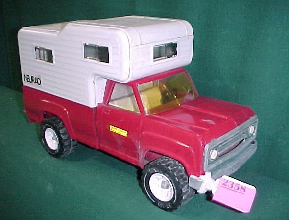 2358: Tonka Neurad Camper Truck