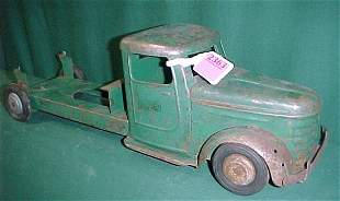 Early Structo Die Stamped Truck Chassis