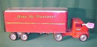 1959 Tonka Dual Wheel Stake Trailer