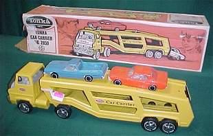 Tonka Auto Transport with Cars & Box