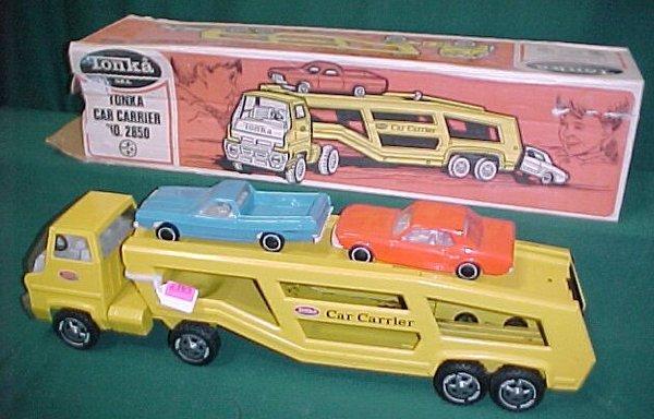 2365: Tonka Auto Transport with Cars & Box