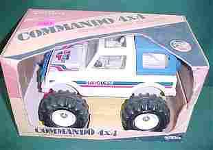 Tonka Car Quest Commando 4x4 NRFB