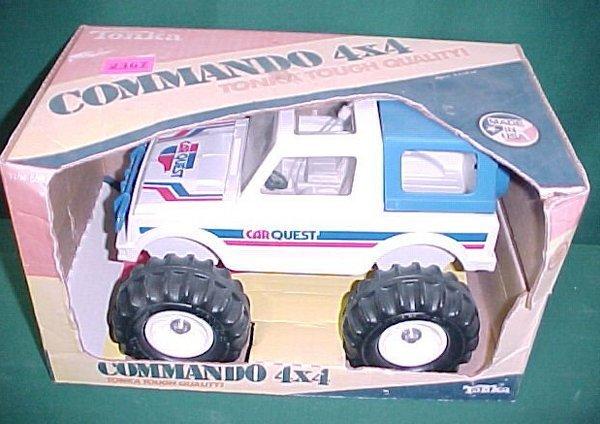 2367: Tonka Car Quest Commando 4x4 NRFB