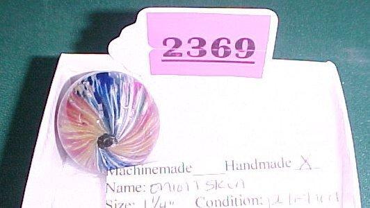 "2369: 1 ¼"" Polished Onion Skin Marble"