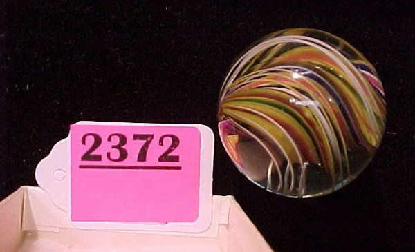 """2372: 1 5/8"""" Solid Core Polished Marble"""