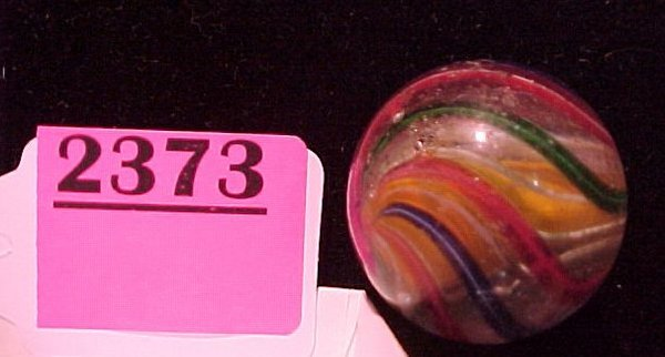 """2373: 1 ¼"""" Hand Made Solid Core Marble"""