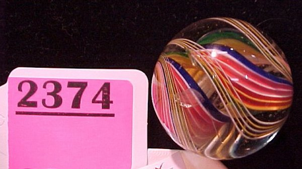 """2374: 1 3/8"""" Polished Open Core Marble"""
