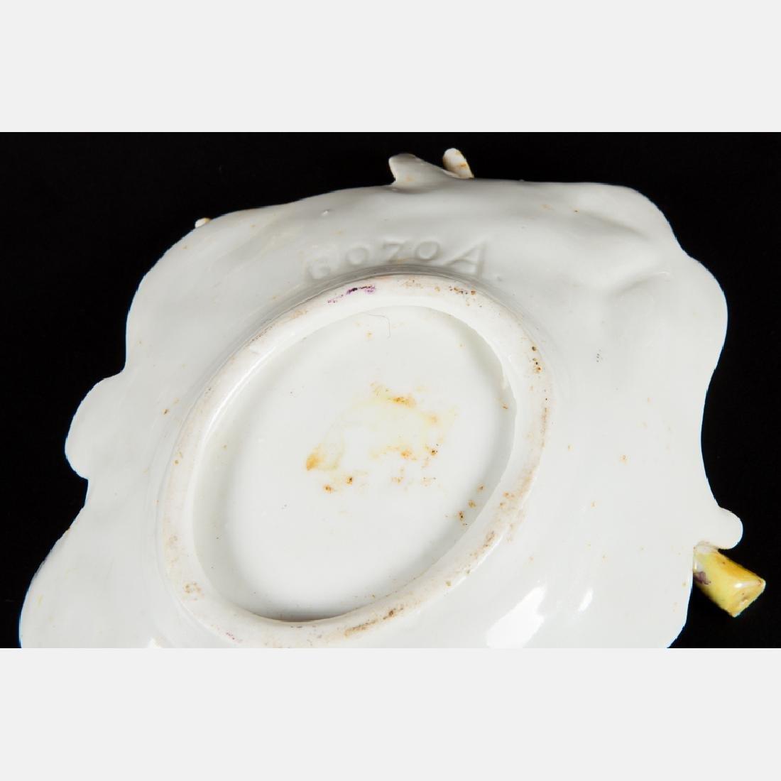 A Group of Five Porcelain Lustreware Decorative Items - 3