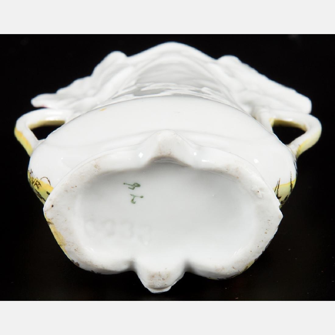 A Group of Five Porcelain Lustreware Decorative Items - 5