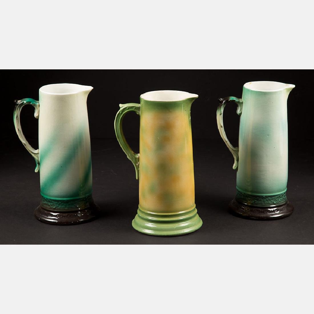 Two Sinclair Art Co. Porcelain Pitchers from the - 2