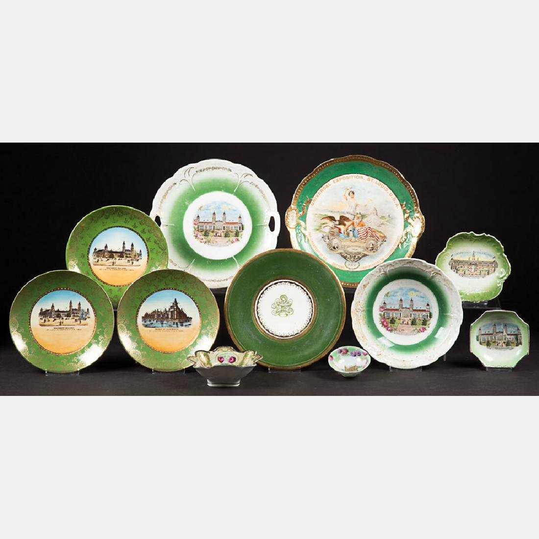 A Miscellaneous Collection of Eleven Porcelain Serving