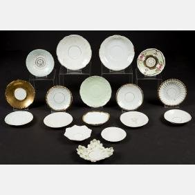 A Miscellaneous Collection of Thirty-One Porcelain