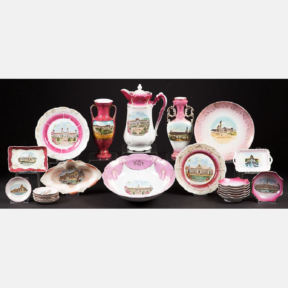 A Miscellaneous Collection of Twenty-Three Porcelain