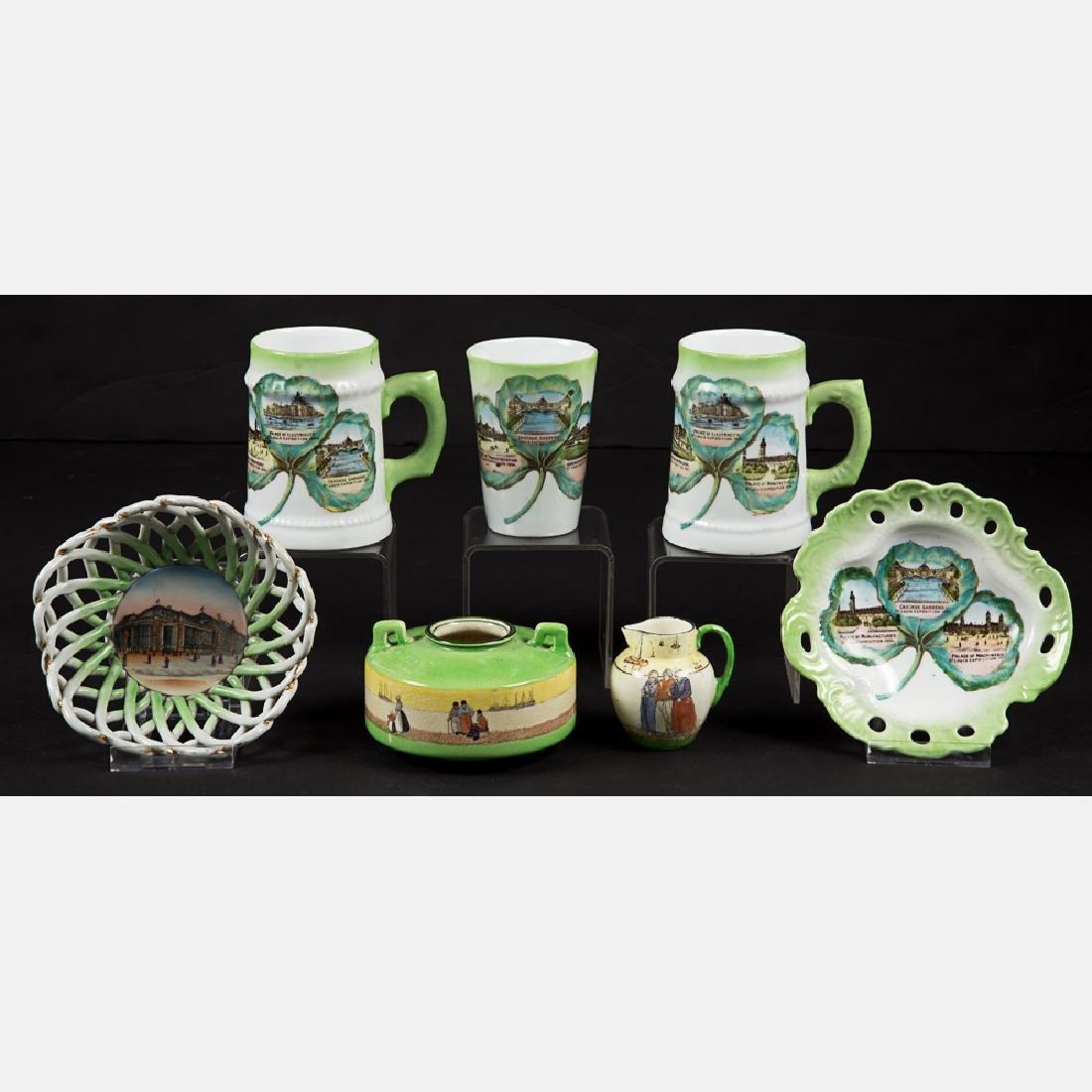 A Miscellaneous Collection of Seven Porcelain