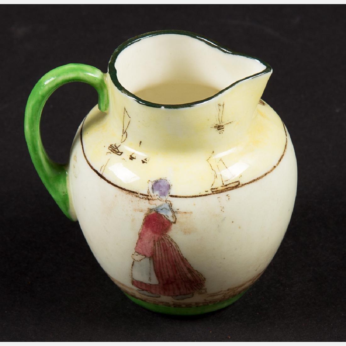 A Miscellaneous Collection of Seven Porcelain - 7