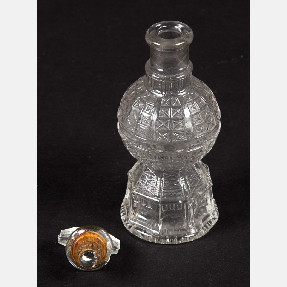 A Group of Three Glass and Metal Decorative and Serving - 6
