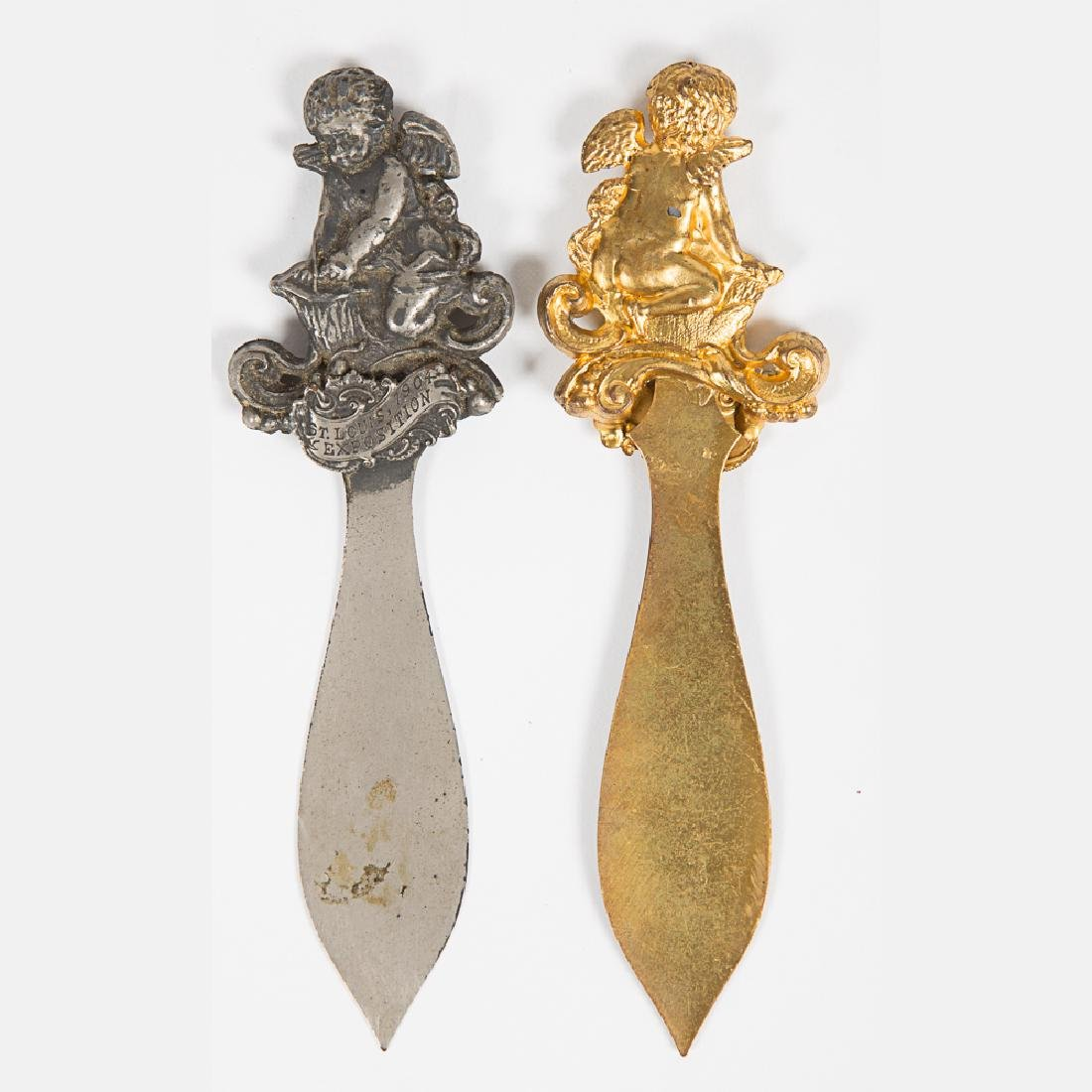Two Gilt and Nickel Letter Openers from the Louisiana - 5
