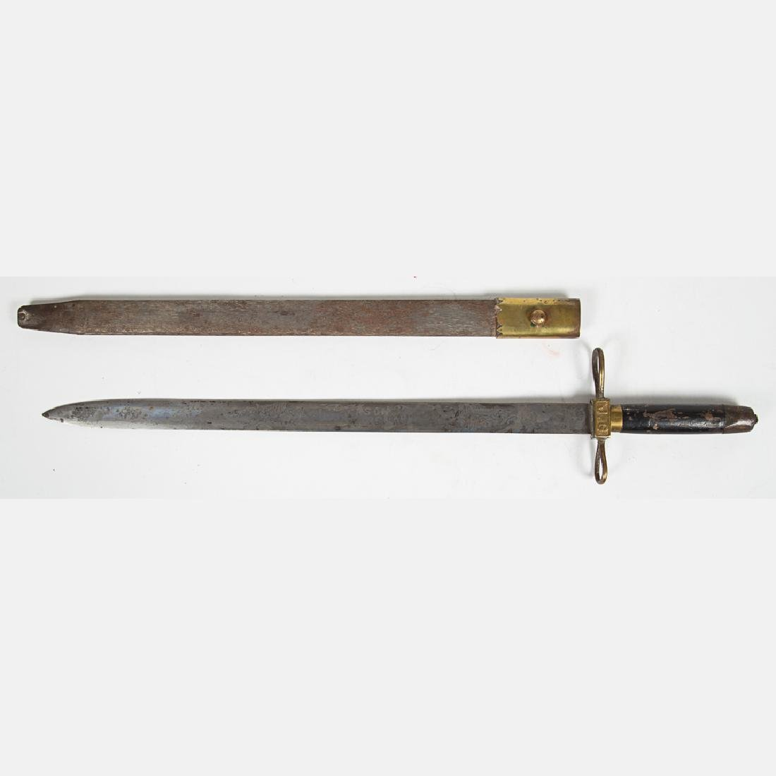 A Jefferson Guard Sword and Scabbard from the Louisiana - 3