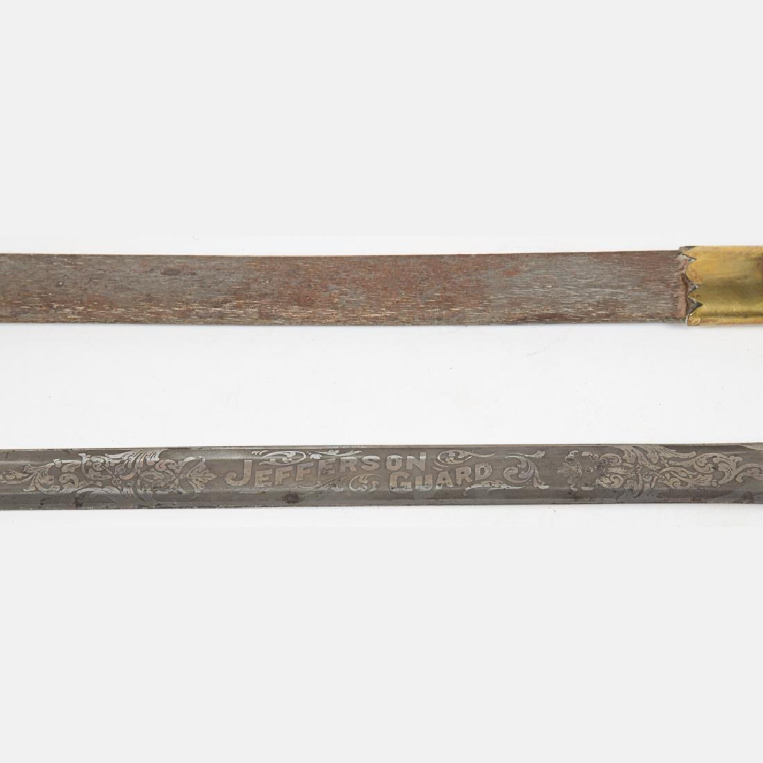 A Jefferson Guard Sword and Scabbard from the Louisiana - 4