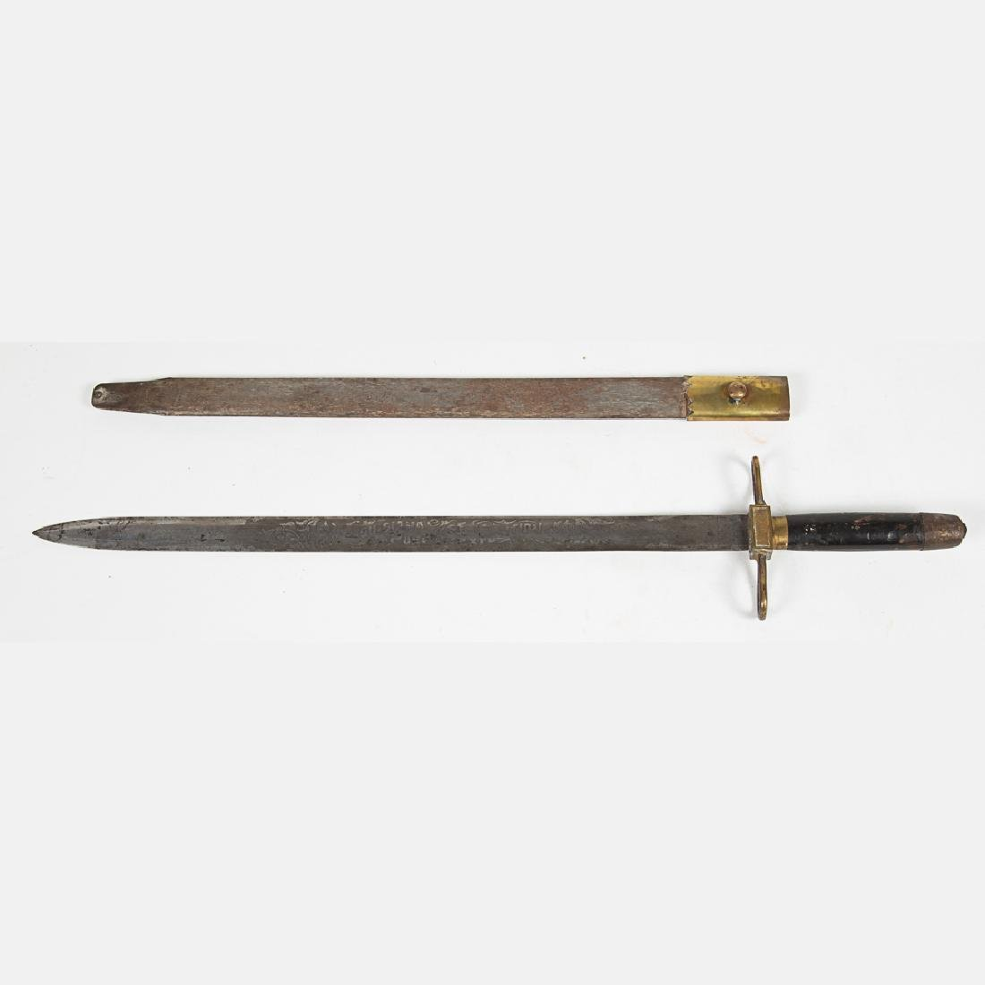 A Jefferson Guard Sword and Scabbard from the Louisiana - 7