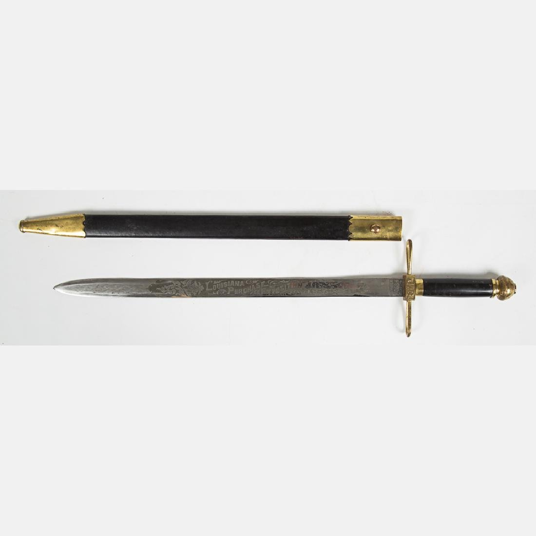 A Jefferson Guard Sword and Scabbard from the Louisiana - 8
