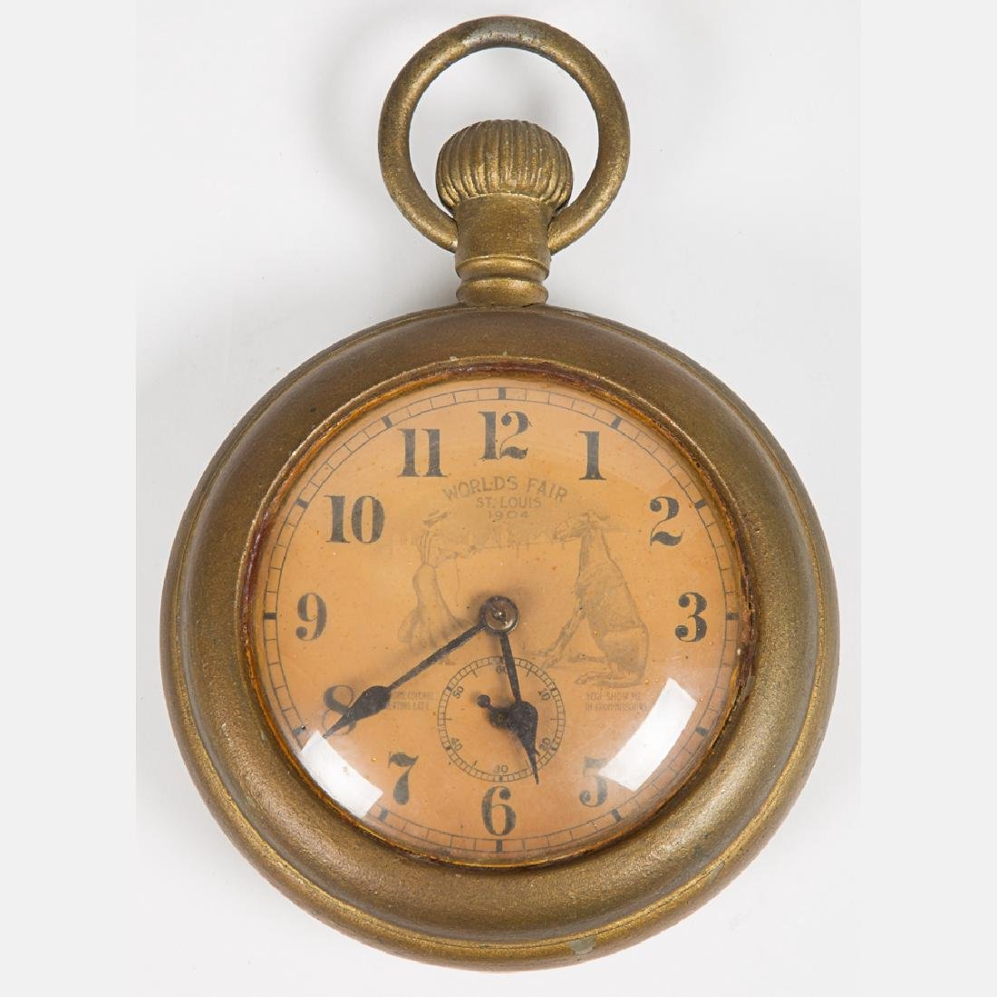 An Ingersoll Jumbo Model Gilt Pocket Watch, 20th